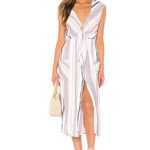 TAVIK Swimwear Jude Dress White & Berry Stripe